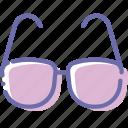 glasses, read, sun, sunglasses icon