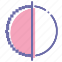 aliasing, anti, antialiasing, quality icon