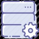 data, database, server, settings
