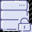 data, database, protection, server icon