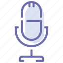 broadcast, mic, microphone, record
