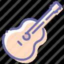 acoustic, guitar, instrument, music