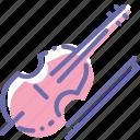instrument, music, violin, violincello
