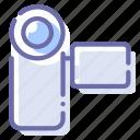 camcorder, camera, device, videocamera icon