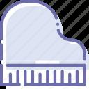 grand, instrument, music, piano icon