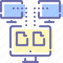 backup, data, network, sync icon
