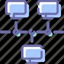 computer, internet, net, network icon