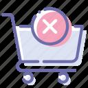 cart, delete, shop, shopping