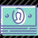 cash, finance, money, pack icon