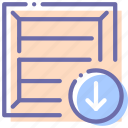 box, download, package, product icon