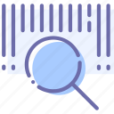 barcode, finance, search, shop icon