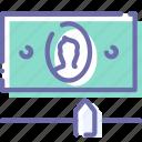 settings, limit, finance, money icon