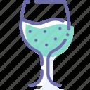 drink, glass, goblet, wine
