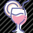 cocktail, drink, lemon, soda
