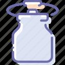 can, grip, kitchen, milk, water