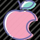 apple, food, fruit, sin