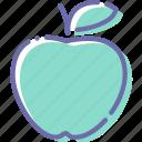 apple, fitness, food, fruit