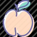 food, fruit, peach, sweet