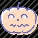 halloween, horror, pumpkin, terrible icon