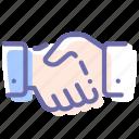 deal, hand, handshake, partner