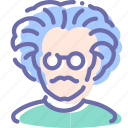 avatar, einstein, professor, user icon