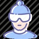 avatar, person, skier, sportsman
