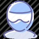avatar, biker, helmet, motorcyclist