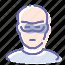 avatar, bald, person, thief