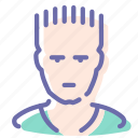 athlete, avatar, man, sportsman
