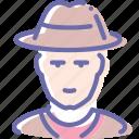 avatar, cowboy, human, person