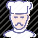 avatar, cook, man, mustache
