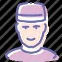avatar, boy, doorman, porter icon