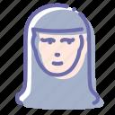 avatar, man, nun, sister icon