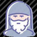 avatar, monk, priest, religion icon