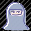 avatar, female, muslim, paranja