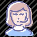 avatar, call, girl, support