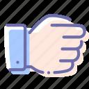 capture, fist, hand, holding icon