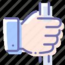 capture, hand, handrail, holding icon