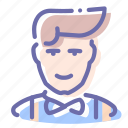 avatar, clerk, hipster, pompadour icon