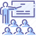 conference, education, people, presentation icon