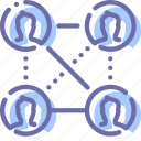 connections, marketing, network, social