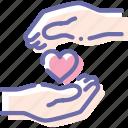 care, cherish, hand, love