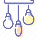 bulb, electric, lamps, light icon