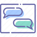 chat, conversation, message, messages icon