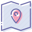 coordinate, location, map, pin icon