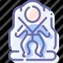 belt, child, safety, seat icon