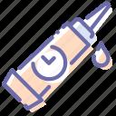 glue, gum, mechanic, pasta icon