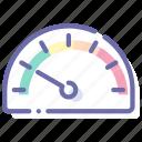 dashboard, gauge, performance, speed icon