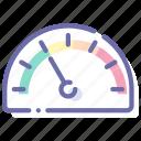 dashboard, gauge, speed, widget icon