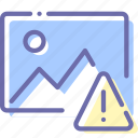 alert, image, photo, picture icon